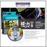 SHIMANO KAIRIKI SX 8 FIBRAS 300 METROS