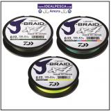 DAIWA J-BRAID X4 1500 METROS MULTI-COLOUR