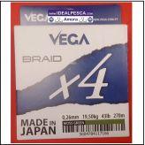 LINHA VEGA BRAID X8 VERDE 270 METROS