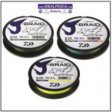 DAIWA J-BRAID X4 MULTI-COLOUR 300 MT.