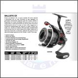 DAIWA BALLISTIC EX 4000 SH