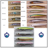 SPANISH LURES BRUTALE 120 MM.