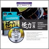 SHIMANO KAiRIKI SX 8 FIBRAS 150 MTS.