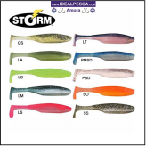 AMOSTRA VINIL STORM SUPERU SHAD SO RUN 10 CM.